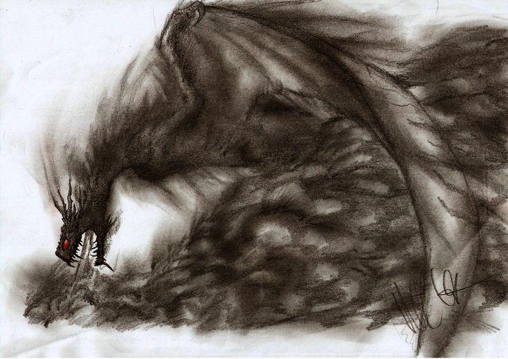 Shadow Dragon by Teratophoneus.deviantart.com on @DeviantArt