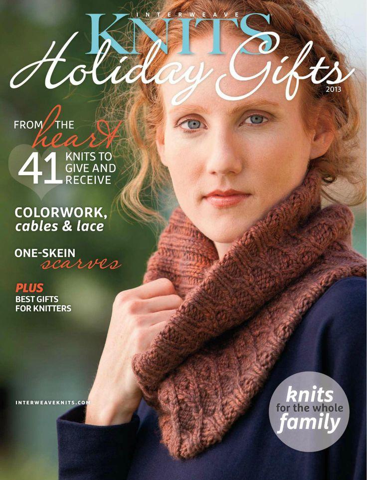 Knitting Holidays Uk : Interweave knits holiday gifts knitting books