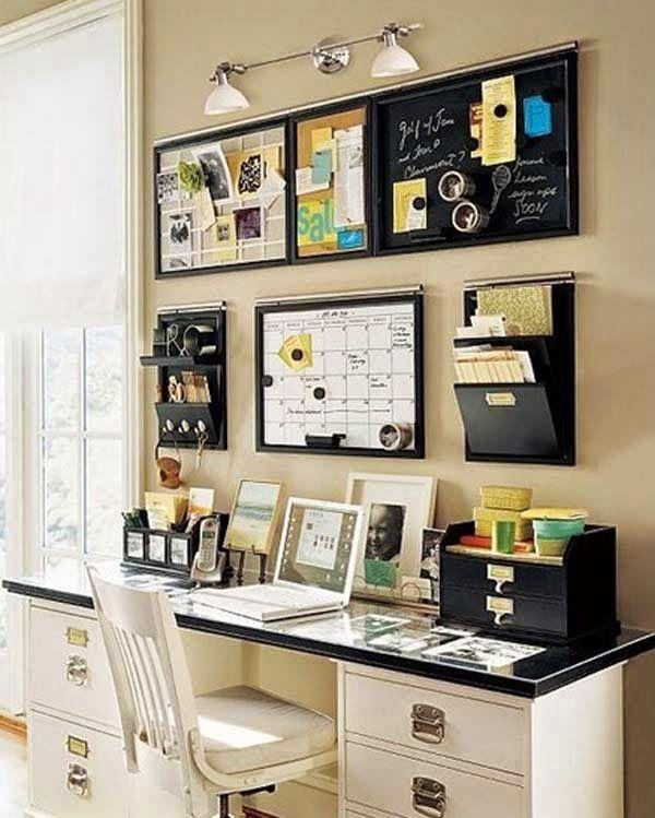decorar oficina pequeña casa