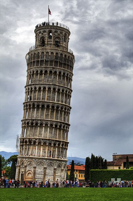 The Leaning Tower Of Pisa by Franz Eric, via Flickr
