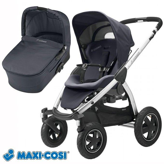 Maxi-Cosi Mura 4 (Hybrid Total Black)  € 499 (alles foto, oud model) (babyenkoter.nl) € 599 (draagmand+ zitje nieuw model) (babyhuiscasita.nl)