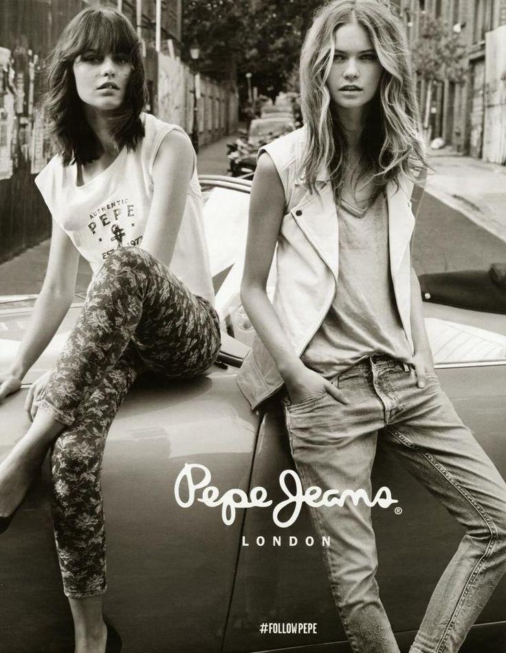Behati Prinsloo & Marta Dyks - Pepe Jeans - Pepe Jeans S/S 14