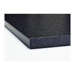 s ljan werkblad zwart mineraalpatroon zwart mineraalpatroon ikea keuken opknappen. Black Bedroom Furniture Sets. Home Design Ideas