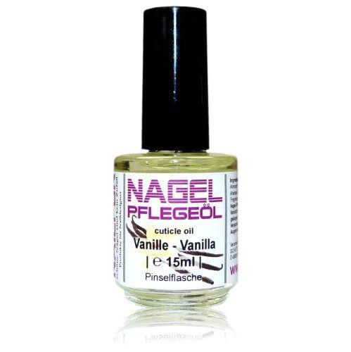 NAILFUN Nagelhautpflege-Öl Vanille 15ml in der Glas-Pinselflasche – Nagelöl Vanilla | Your #1 Source for Beauty Products