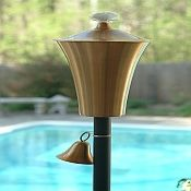 I like these so much better than traditional tiki torches.