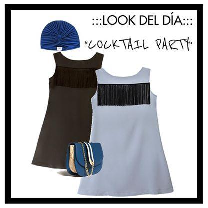 Look del día: cocktail party. Vestido de LOL&TONIC www.lolandtonic.com