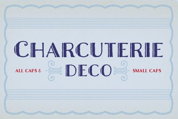 Check out Charcuterie Deco by Laura Worthington on Creative Market