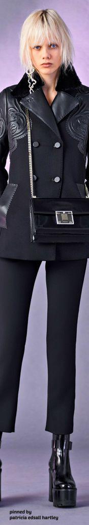 модные брюки 2017 из кожи