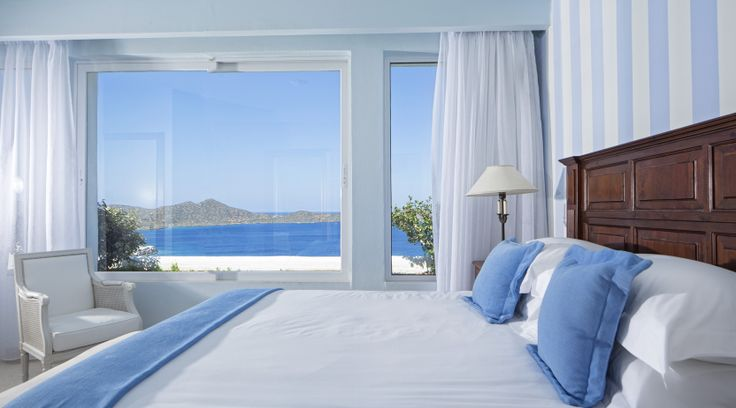 Elounda Gulf Villas and Suites offer stunning views of the Mirabello Gulf from every room!