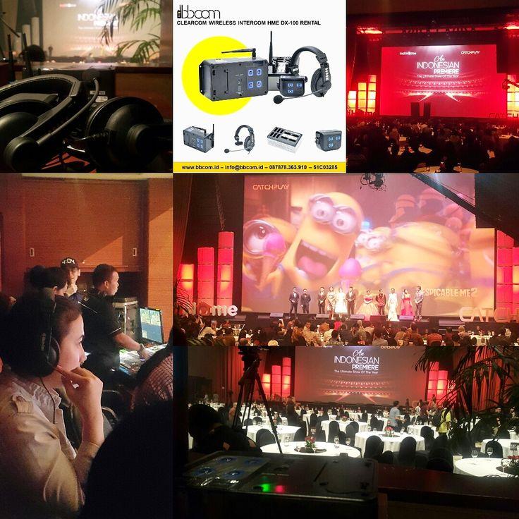 WE Support Jasa Sewa Clearcom at XXi Djakarta Theater Jakarta Pusat.