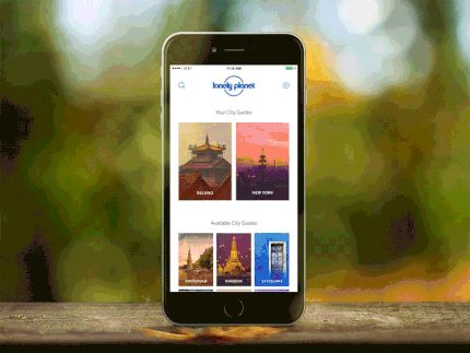 Guides - Selecting City by Claudio Guglieri—The Best iPhone Mockups for Your Next Product → store.ramotion.com