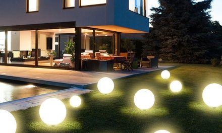 Grafner LED Solar-Außenleuchte in der Größe nach Wahl