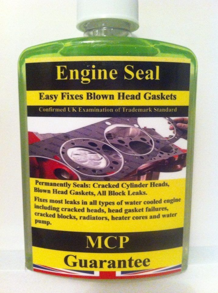 STEEL SEAL HEAD GASKET SEALER ,,PROFESSIONAL,USE ALL AUTOMOTIVE MANUFACTURES.MCP