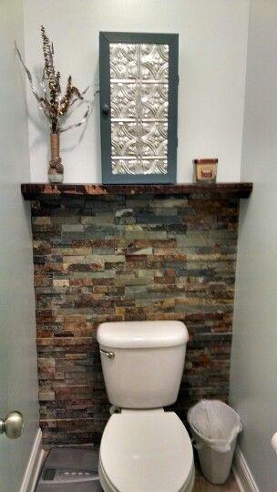 Toilet room great idea!