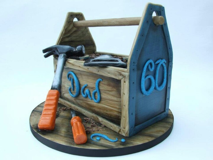 Cake Decorating Equipment Box : Toolbox cake Para hombres Pinterest