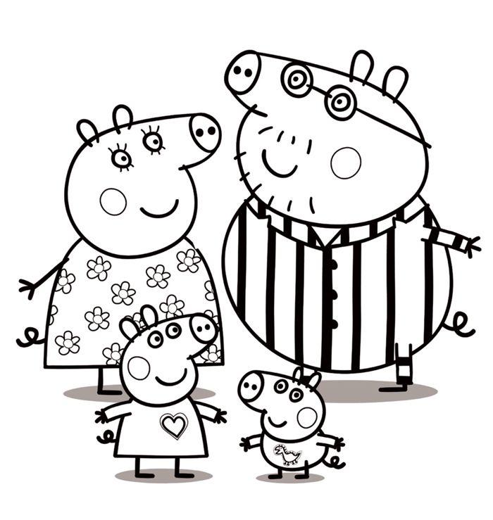 Dibujos De Peppa Pig Para Imprimir Y Colorear Gratis Dibujo De Peppa Pig Peppa Pig Para Colorear Peppa Para Pintar