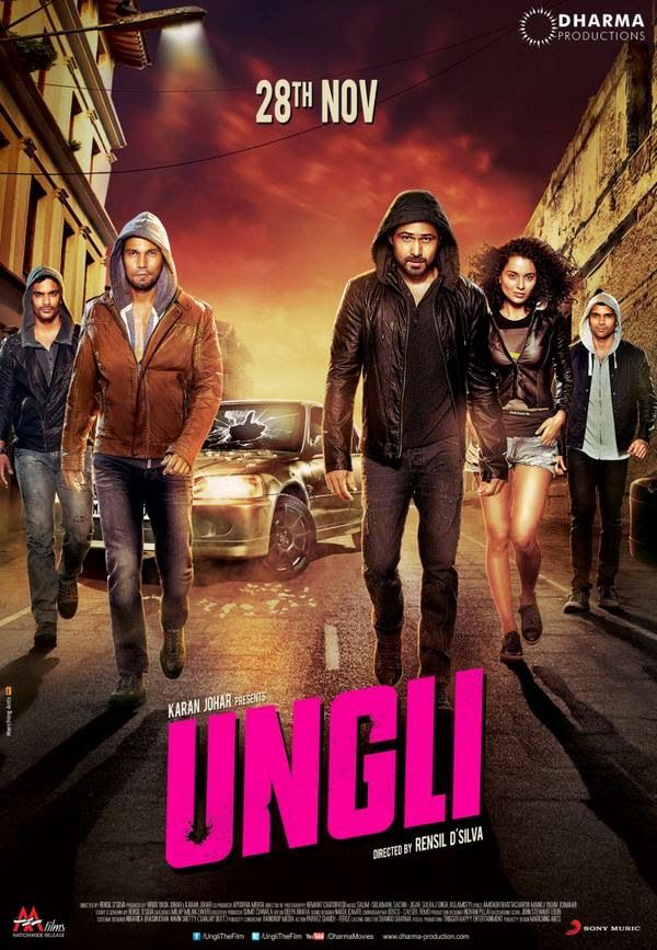 Ungli Movie New Exclusive Poster | Starring Emraan Hashmi, Kangana Ranuat, Randeep Hooda | Presenting The Exclusive HD Poster; Directed by Rensil D'Silva | #Ungli #5UngliRaised #emraanhashmi #ungliposter #unglifirstlook #firstlookposter #hindimovie #sanjaydutt #kanganaranaut #randeephooda #hindimovie #hindimovies2014 #movies #movies2014 #HindiMoviePoster #MoviePoster #movieposters