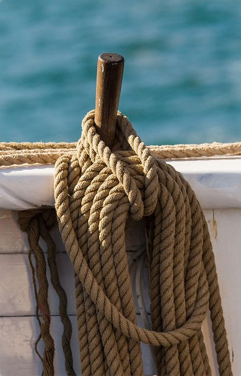 pirates-world:   Ropes and Pulleys / Craig Jewell