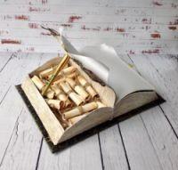 Gallery.ru / Подпрок на 22- ух летие. размер книги 28 см на 20 - Сладкие подарки ( коробки, шкатулки) - Gluttonfish