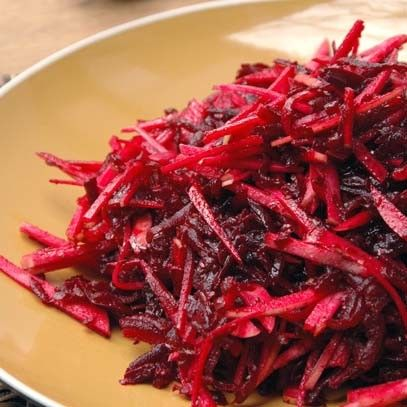 Beetroot and apple salad -INA PAARMAN