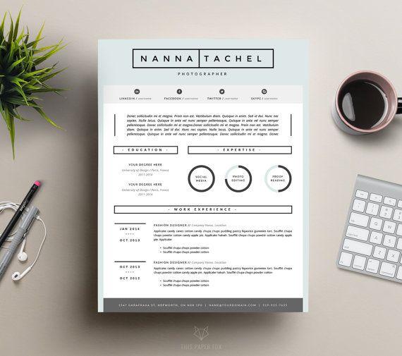 133 best + resume templates images on Pinterest Feminine, Art - iwork resume template