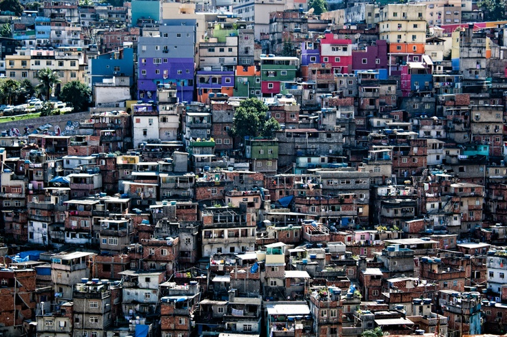 Favela by Bruce Schoelitsz, via 500px