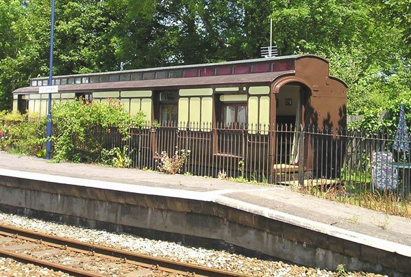 Trains & Train Stations in England - Cornwall - St Germans - The Travelling Post Office