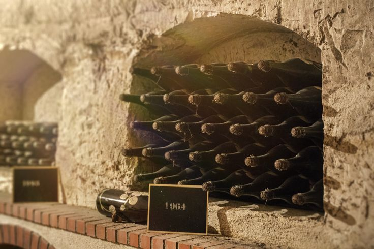 Perrier-Jouët's cellars - Drink responsibly. #champagne #cellars #Epernay #France