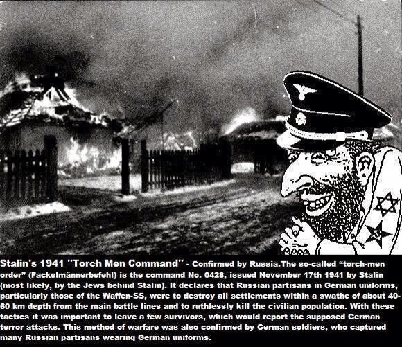 Stalins Torch Men Command.