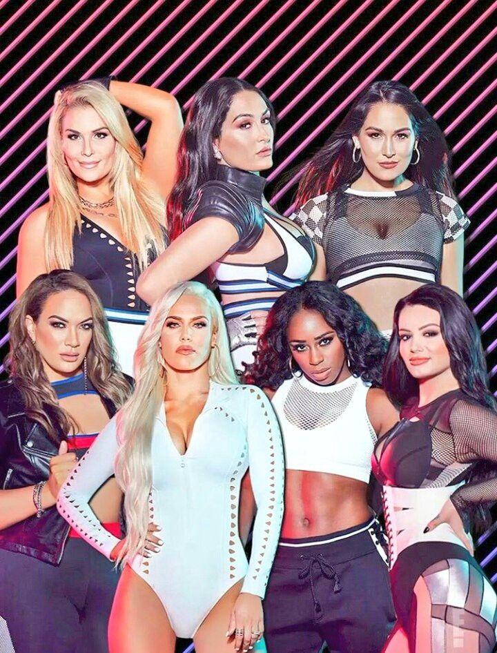 Total Divas Natalie Wilson Brianna Danielson Nicole Garica Colace Savelina Fanene Catherine Barnyashev Trinity Fatu Sar Wrestling Divas Wwe Divas Wwe Womens