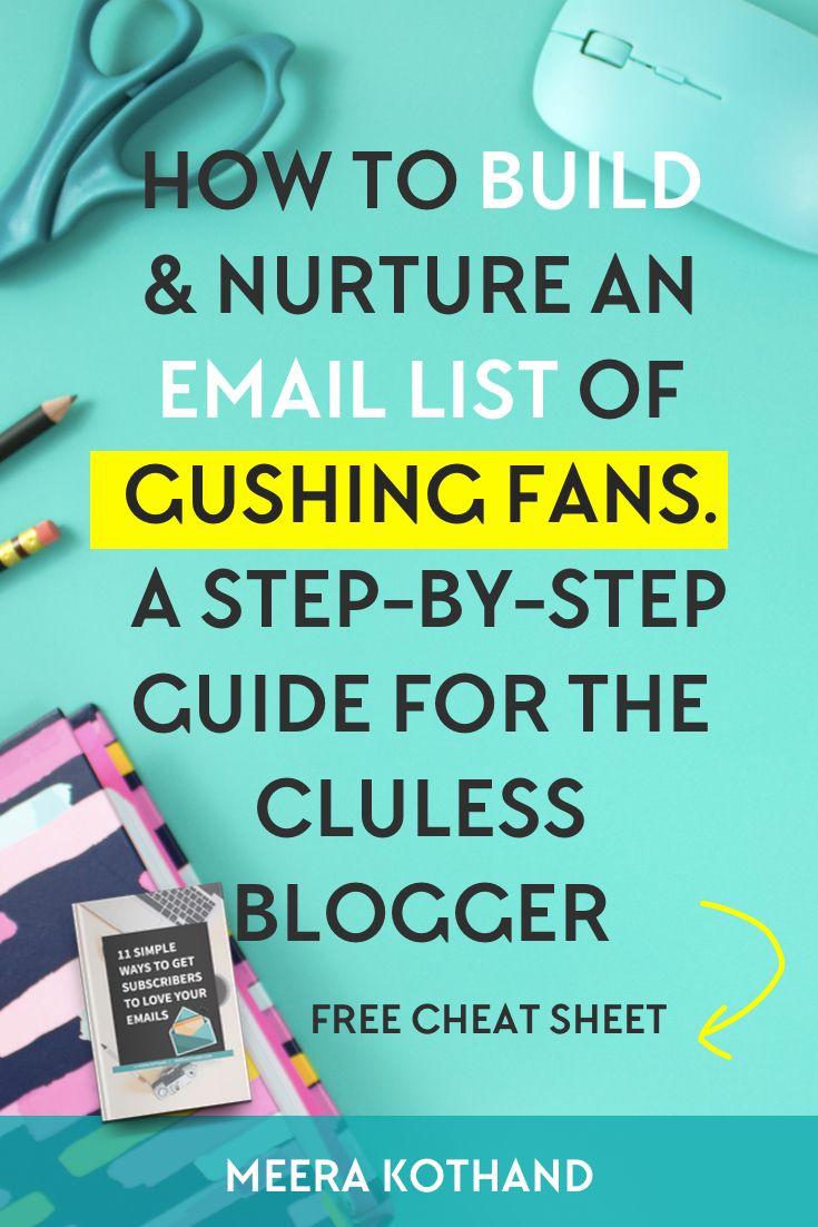 25+ best Email list ideas on Pinterest