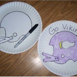 10 best images about preschool sports ball theme on for Football crafts for preschoolers