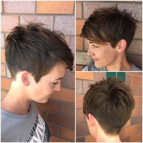 Die trendigsten Pixie Cut Frisuren für Frauen 25 ...