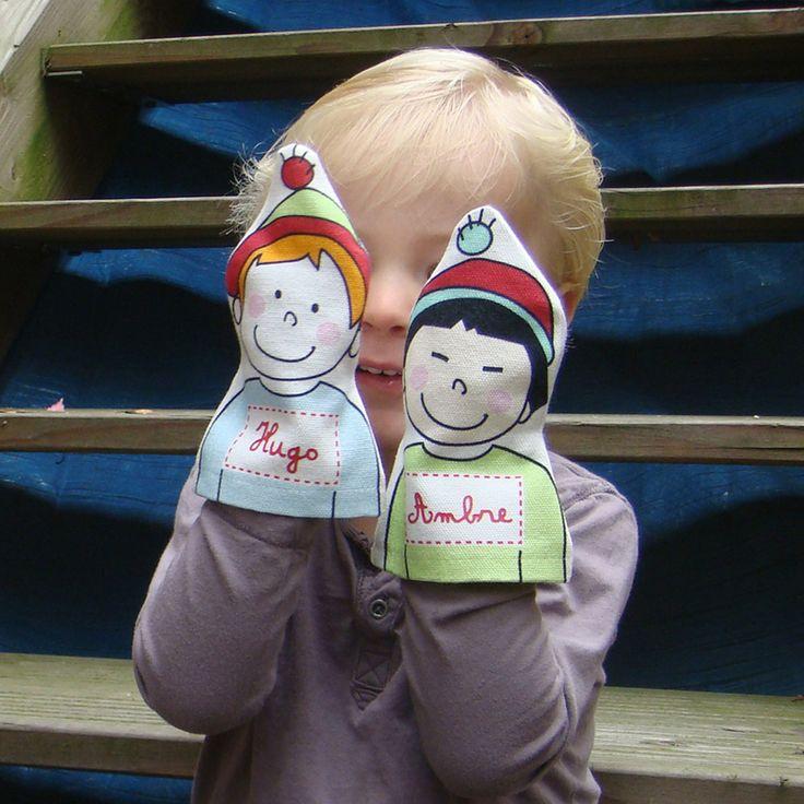Jouer, inventer, imaginer, parler !  Marionnettes personnalisées Les Griottes.