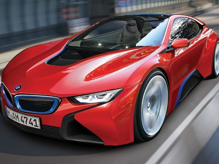 2015 New #BMW i8 in red! #SuperCar #Speed #Power #Design #Luxury #Cars #CarShowSafari