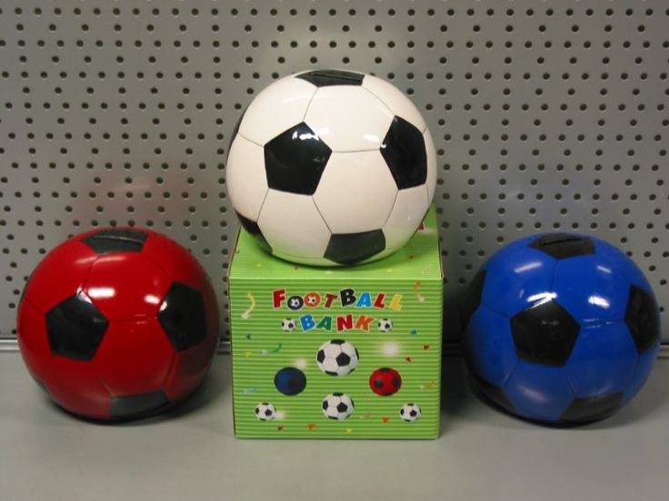 Jongens voetbal spaarpot | jongens kado