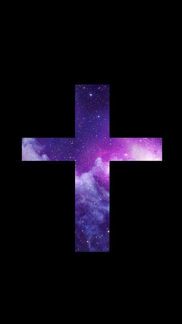 crosses on Pinterest | Galaxy Cross, Cross Wallpaper and We Heart It