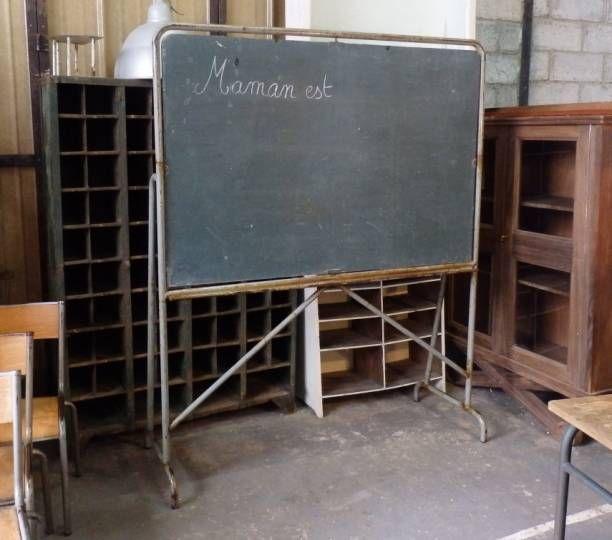 Tableau d'école vintage