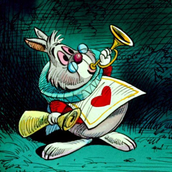 disney Alice In Wonderland caterpillar Mad Hatter queen of hearts ...