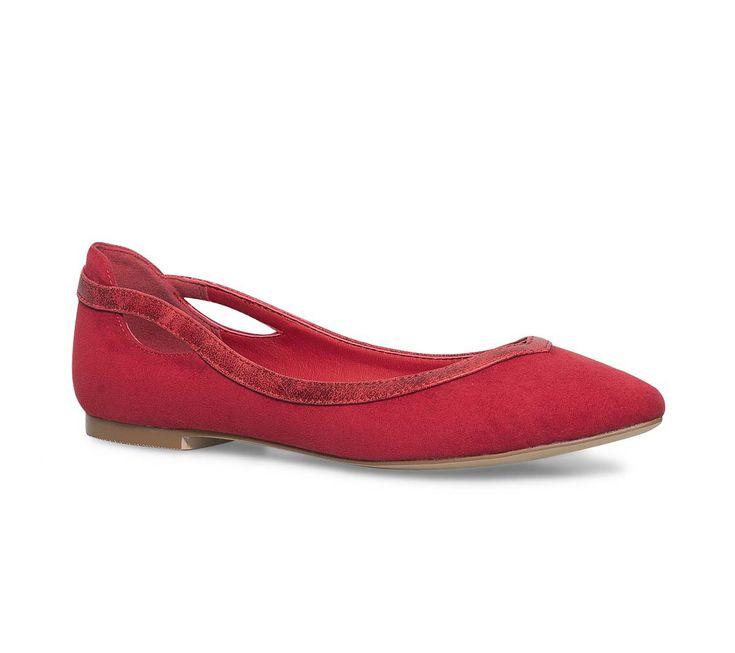 ballerine rouge - Ballerines - Chaussures femme
