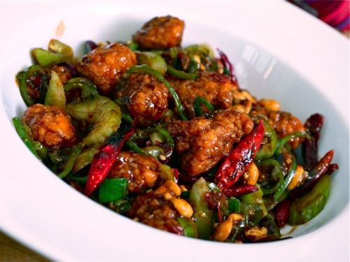 from a gastro foodie: Popeye's Chicken Nuggets Make Awesome Homemade Chinese-American Food [Kung Pao Chicken recipe]