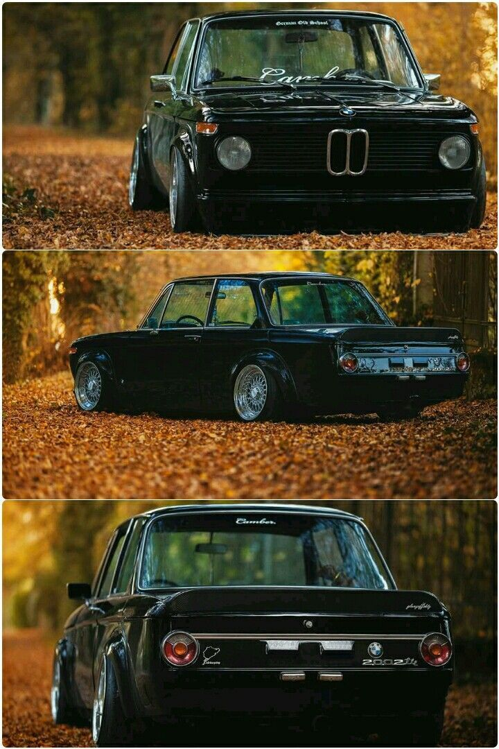 BMW 2002ti lieben diesen Look älterer BMWs