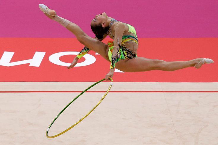 La gimnasta de Azerbaiyán Aliya Garayeva