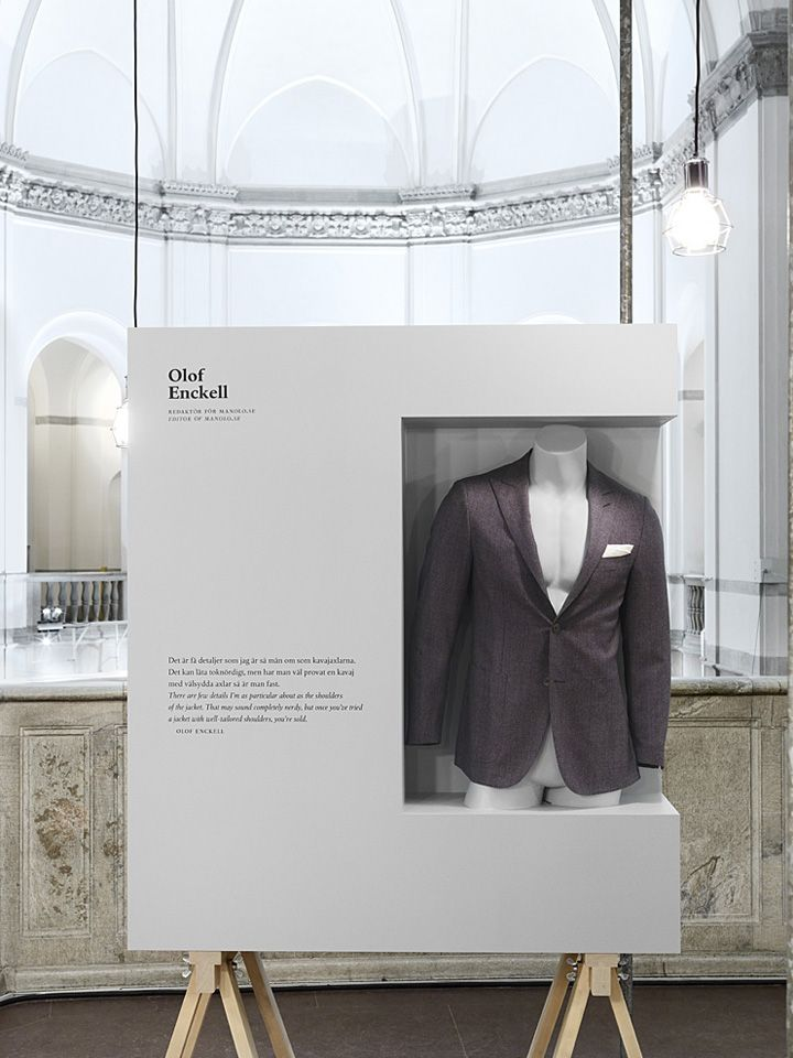 Dandy exhibition by Form Us With Love visual merchandising