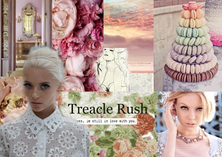 Trend Board Summer 2012    Treacle Rush