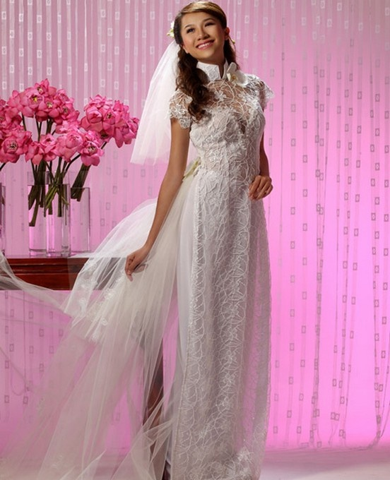 Vietnamese Wedding Gown: 74 Best Images About Vietnamese Wedding On Pinterest