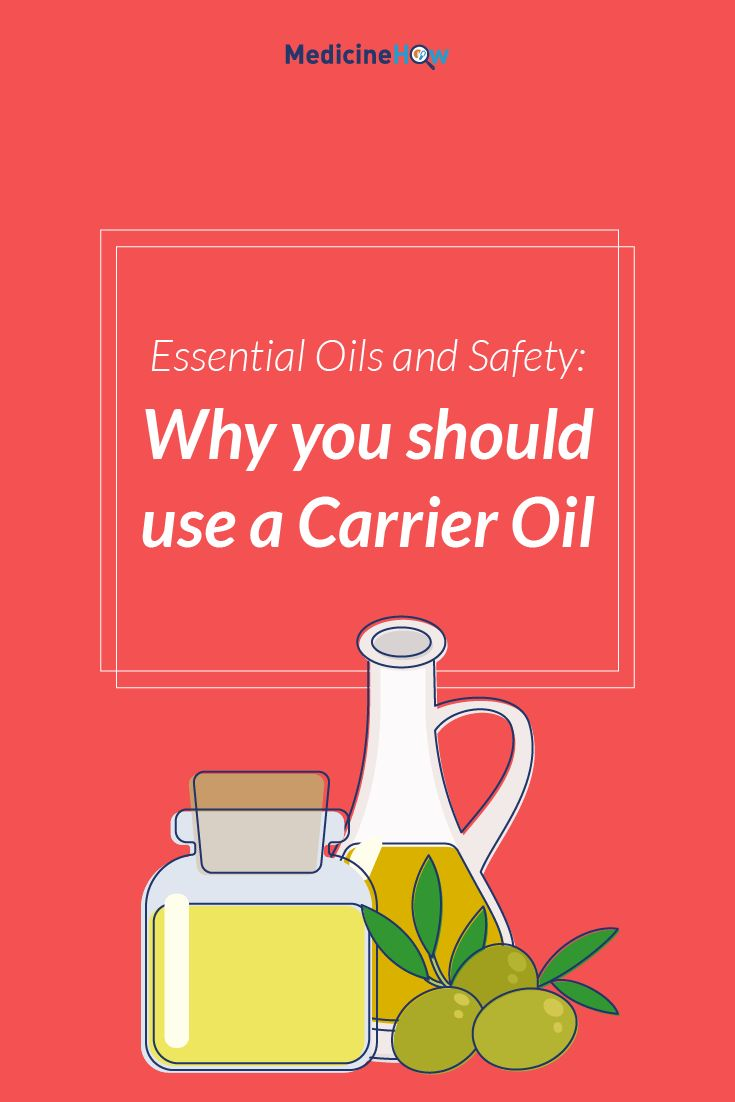 Essential Oils and Safety: Why you should use a Carrier Oil