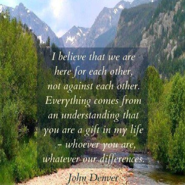 ~John Denver~ A Celebration of Life acoustic album is one of my go-tos to calm me