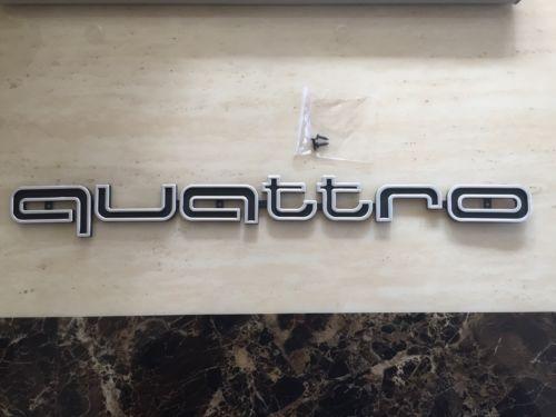 Audi #quattro #grill #badge large logo emblem a3 a4 a5 a7 tt rs5 rs4 a1 q7 rs3 rs,  View more on the LINK: http://www.zeppy.io/product/gb/2/121821108250/