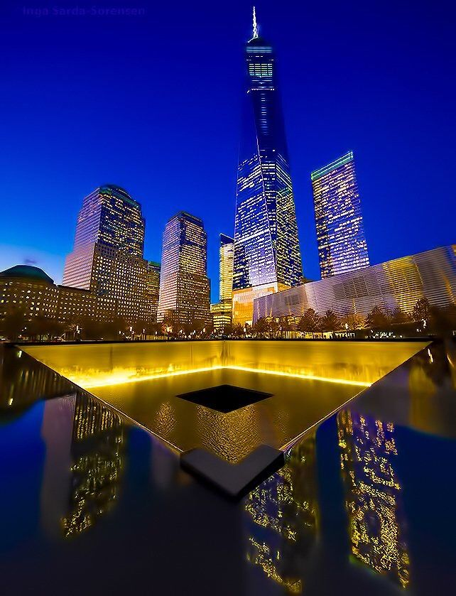 New York City Feelings - World Trade Center glistens during tonight's...